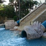 high speed double water slides