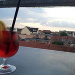 A drink with Potsdam view
