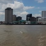 Panoramic view of New Orleans from the ferry