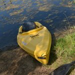 kayak by the beach...available to ride in!