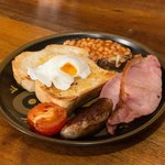 We are delighted to serve you our Kent breakfast. Using the best locally sourced ingredients