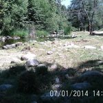 N. Fork Kaweah River on July 1