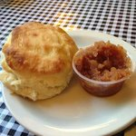 Biscuits with Apple Compote