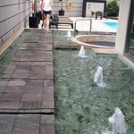 pathway to pool