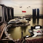 Taken from our room 22nd floor corner suite. National day celebration