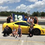 Photo with the Ferrari….