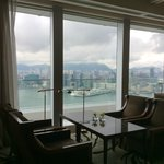 the executive lounge on the 45 floor