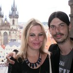 Prague visit : Top of Astronomical clock tower