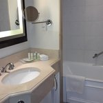 Bathroom with amenities