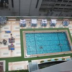 Pool View from our 18th floor
