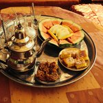 Afternoon tea  -  Berber style