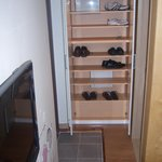 Doorway & shoe storage
