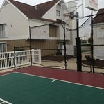 Basketball court (next to pool)
