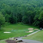 12th hole at Holiday Valley's Double Black Diamond Golf Course