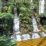 Opryland Hotel Garden waterfalls