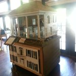 A replica of the hotel I believe (I may be wrong)
