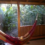 The hammock was really comfortable :)