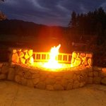 Cozy fire pit at brooks.