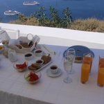 breakfast in balcony
