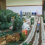 Third Rail Layout in One Room