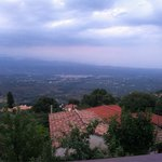 View towards Sparta from Chromata terrace
