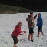 Summer fun in the snow!