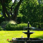 The Garden of the Whistling Swan Inn