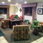 Super 8 Clearfield Lobby