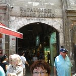 Entrance to the Grand Bazaar