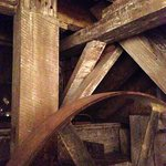 Beams in the Wine Cellar