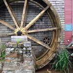 Waterwheel outside the Restaurant