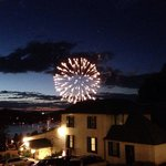 Fireworks on Canada day!! What a perfect view!!