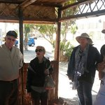 Previous conversation with american tourist with tours guided of Great Nazca Tours! Company...