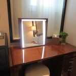 Electronic dressing table mirror
