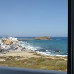 View to Portara from the room