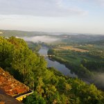 Early morning mist over the Dordogne