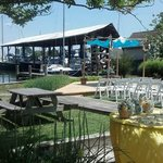 Harborside wedding venue at Hambleton Inn