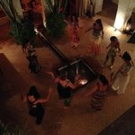 birds eye view belly dancing