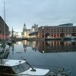 The Albert Dock, right by the hotel