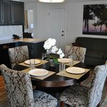 Dining area of 2 Bedroom Apartment