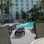 The Pool Area at The Avi