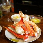 All You Can Eat Alsakan king crab legs
