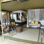 Our luxurious tents