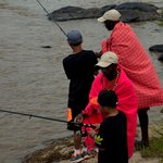 Fishing in the Mara River