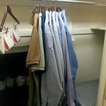 Large closet space