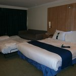 Double Bed with Twin Sofa Bed Room - March 2012