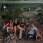 Our group at the Blackstone Harbour campsite