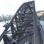 Pylon Lookout at Sydney Harbour Bridge Foto