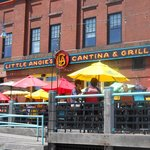 Patio Dining By Lake Superior