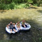 tubing the river!